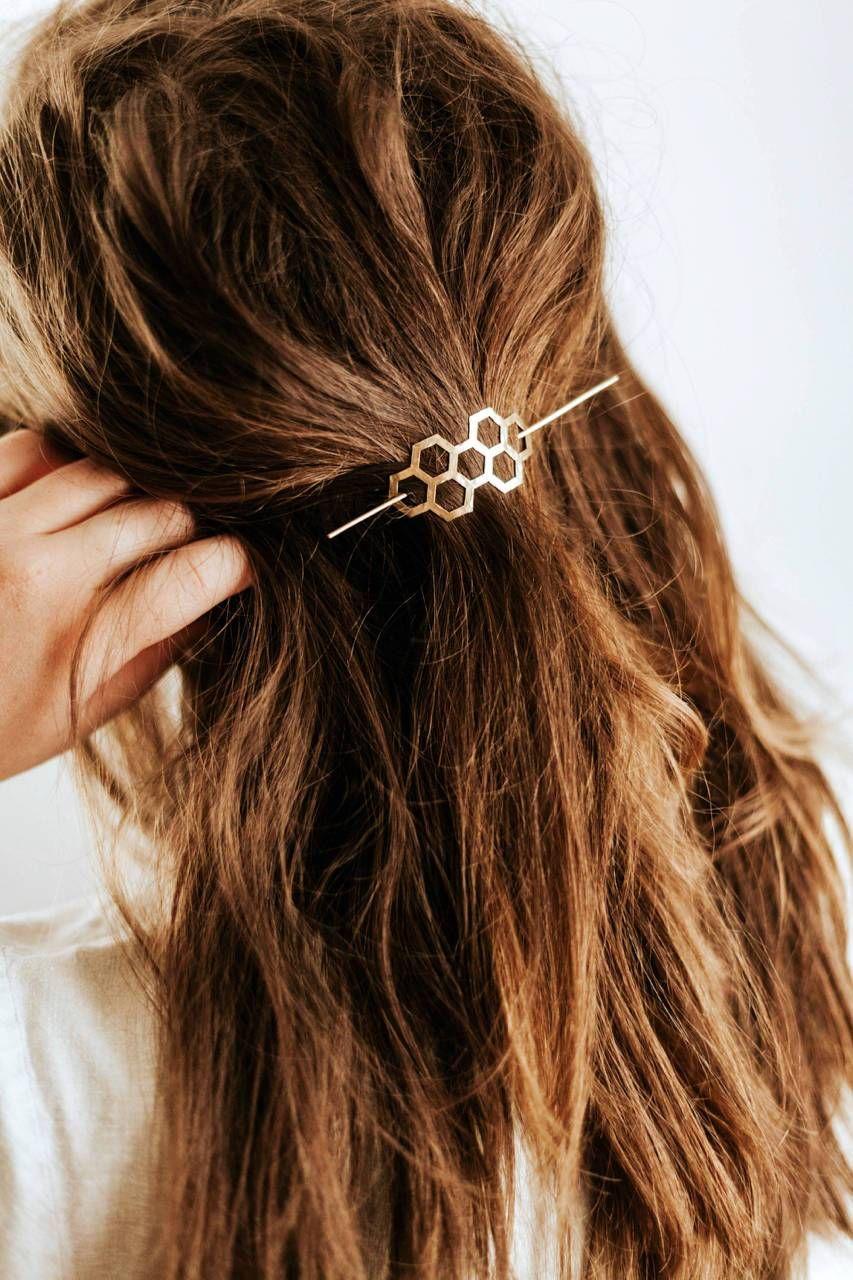 Horquilla de nido de abeja – acero inoxidable  – Peinados