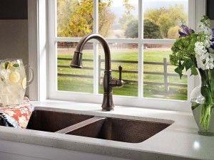 Delta Cassidy Kitchen Faucet Venetian Bronze Kitchen Faucet