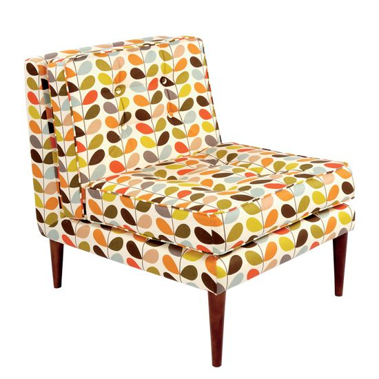 Nice Orla Kiely Chair In Multistem Fabric. I Could Happily Find Space For This.