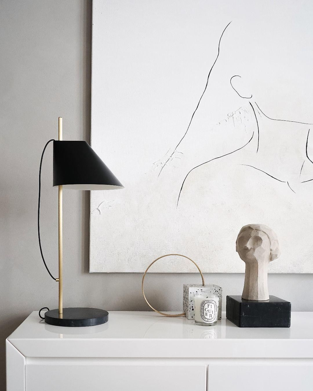 Yuh Table Lamp in 2020 | Lamp, Table lamp, Elegant table lamp