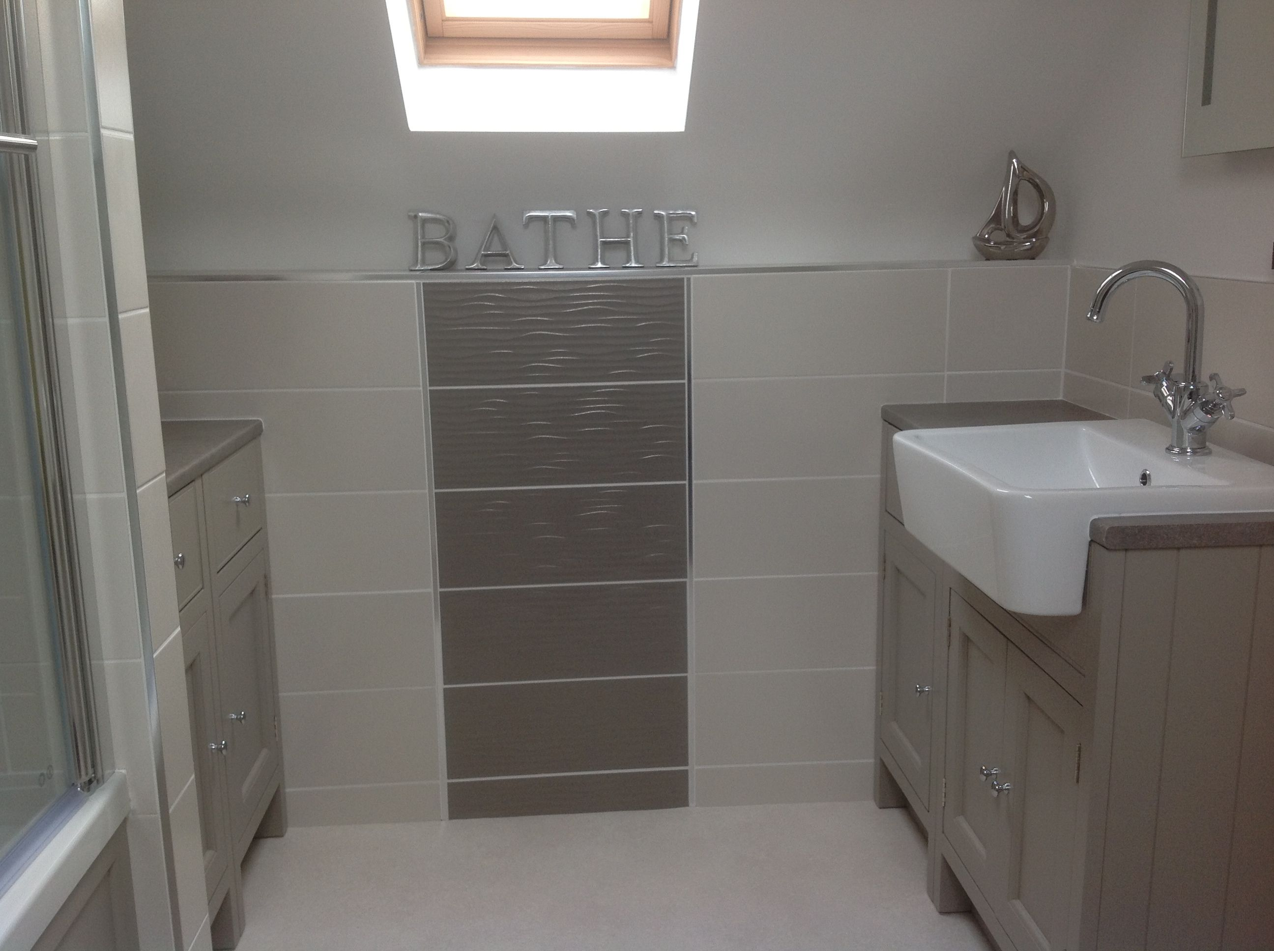 new bathroom with roper rhodes fittings hampton range