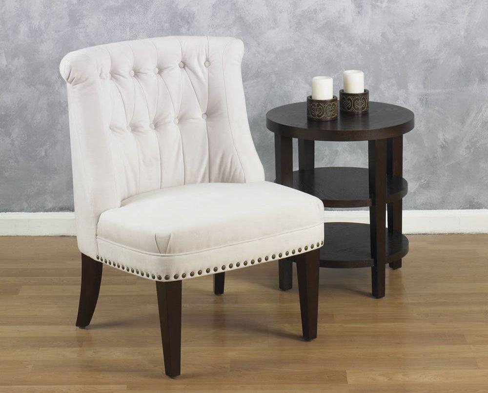Lounge Chair Living Room Avenue Six Ventana Oyster Fabric Living Room Tufted Back Lounge