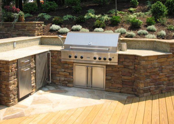 Outdoor Brick Grill Plans | Designing An Outdoor Kitchen | Revolutionary  Gardens
