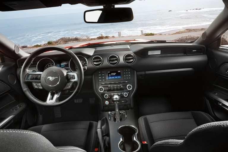 2017 Ford Mustang V6 Fastback Interior In Ebony 2017 Mustang Gt Premium Pinterest 2017