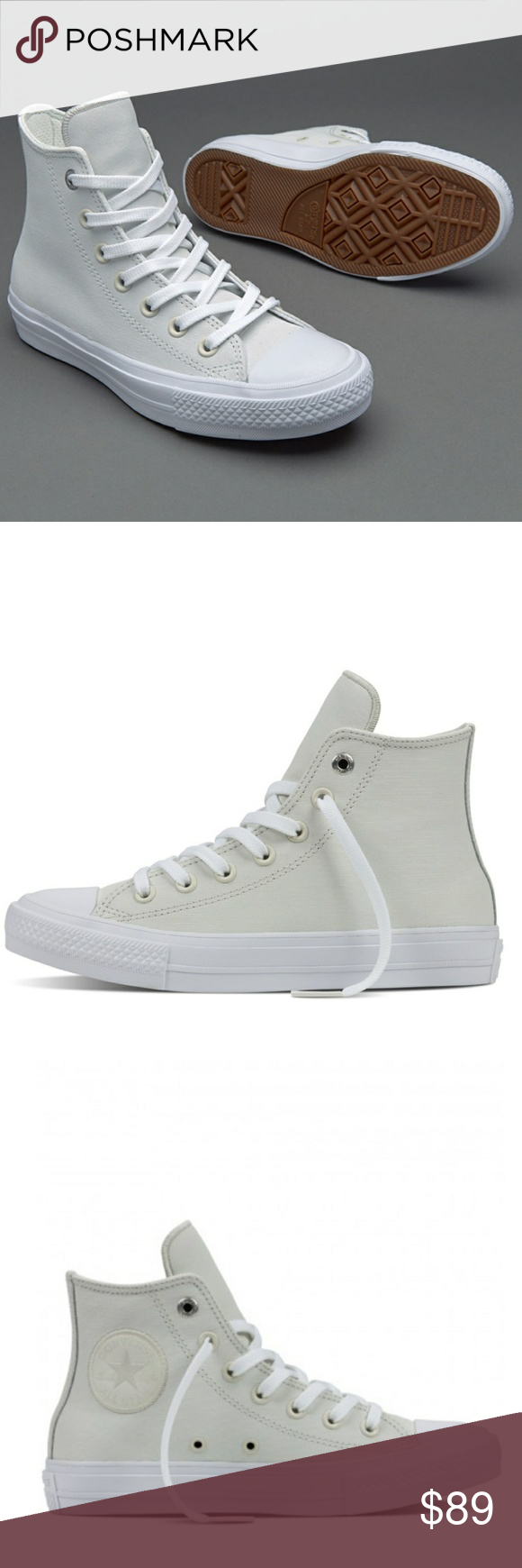 Converse Lunarlon Insole For Sale Sale Nwt Converse Chuck Ii 2 Leather Buff Shoes Nwt Converse