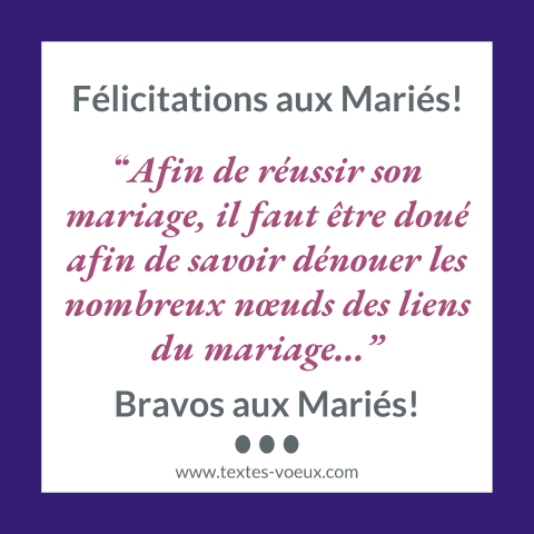 Vœux De Félicitations Marrants Pour Le Mariage Sms