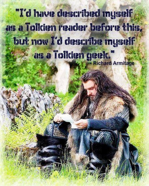 Richard Armitage ~ Tolkien Geek