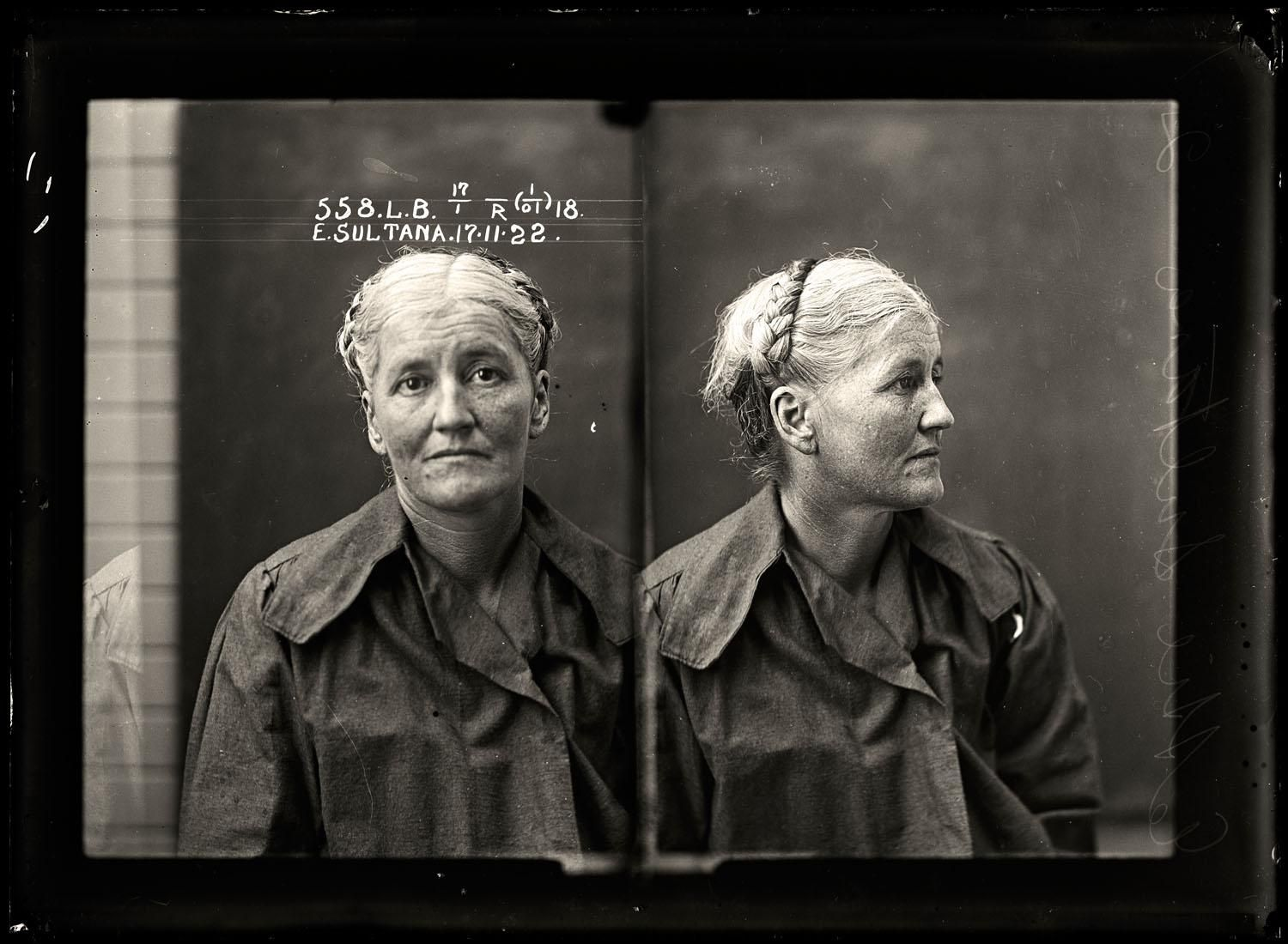 Prostitute Ettie Sultana worked in northern New South Wales and in the Queensland cities of Brisbane and Toowoomba for most of her career. She had multiple convictions for prostitution, theft, drunkenness, swearing and vagrancy. She was sentenced to six months with hard labour.