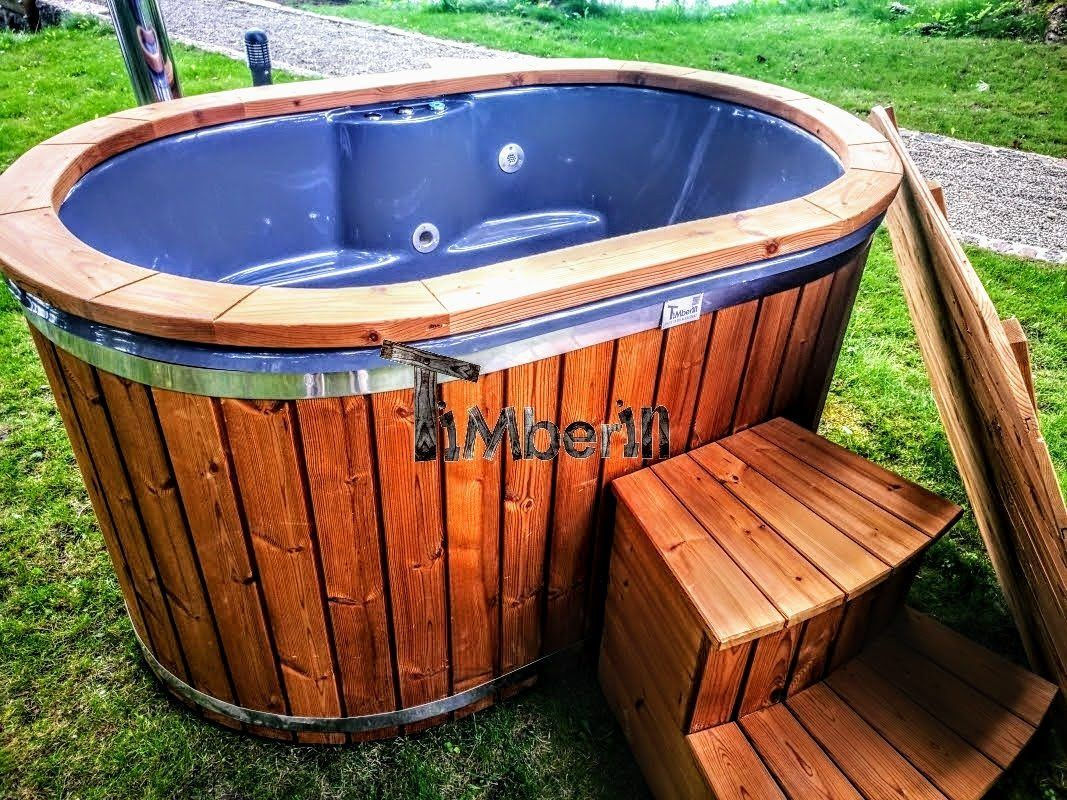Tauchbecken Outdoor Hot Tub 2 Person Outdoor Jacuzzi Whirlpool #outdoorwhirlpoolspa | Small Hot Tub, Tubs For Sale, Hot Tub