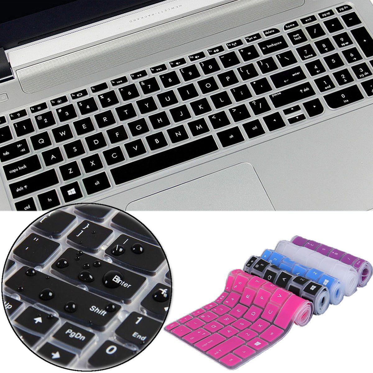 Transparent/Black/Blue/Purple/Rose Red Notebook Keyboard