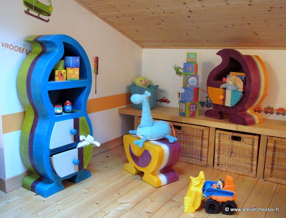 meuble en carton enfant. Black Bedroom Furniture Sets. Home Design Ideas