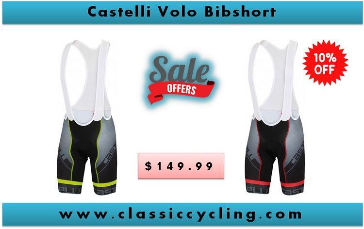 Castelli Volo Bib Short - Black Red  55a46477e
