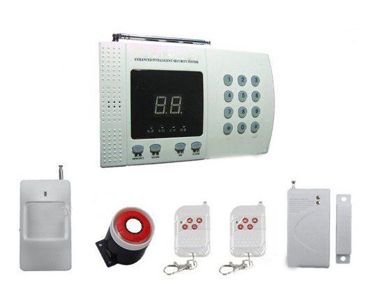 New Wireless Pir Home Security Burglar Alarm System Auto Dialing Dialer Easy Diy Pstn Alarm Home Security Alarm System Home Security Systems Diy Home Security