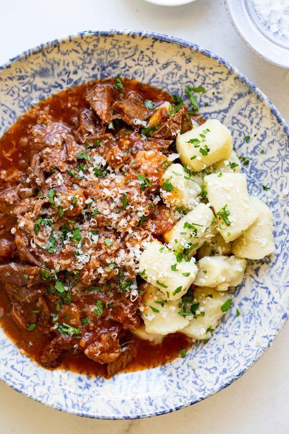 Beef Ragu with Parmesan Gnocchi - Simply Delicious