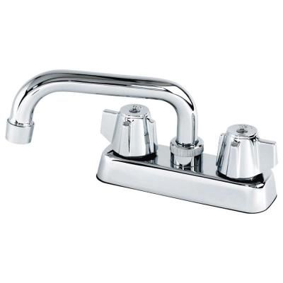 2 Handle Laundry Faucet In Chrome Grey Faucet Sink Accessories