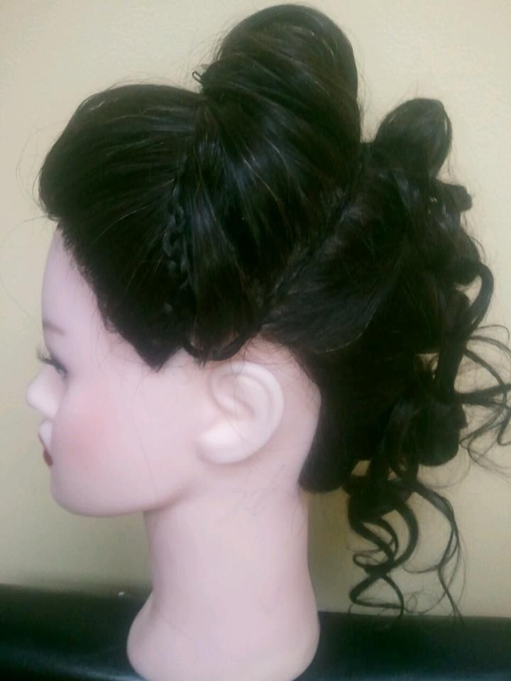 Fancy Up-Do for Wedding