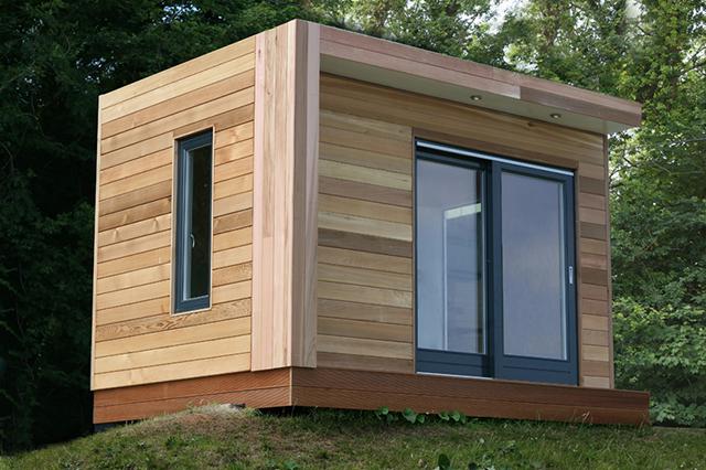 Self-build-garden-office-kit | Micro-Arquitectura in 2019 ...