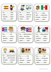 palabras en diferentes paises hispanohablantes