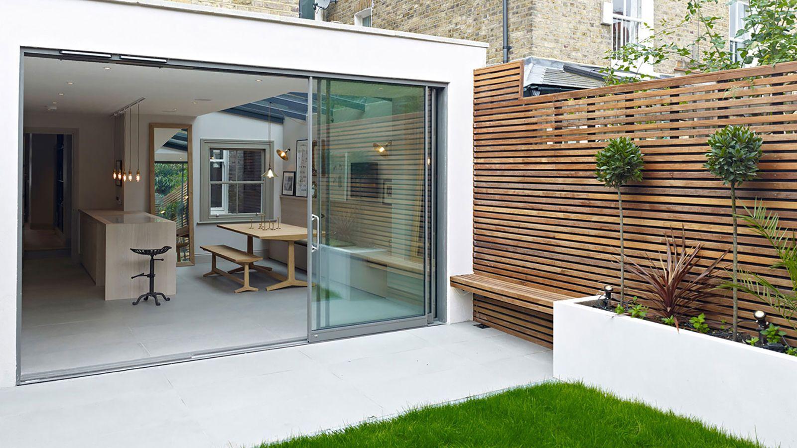 Hillier ~ Modern Tiles Patio - Outside Space ~ Garden  Design ~ Royal Mosa Floor Tiles  @ Material Plans