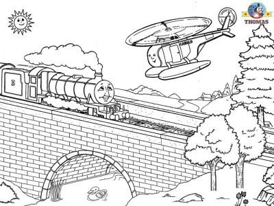 Henry The Green Engine Free Coloring Pages For Boys Worksheets Preschool Thomas Tank