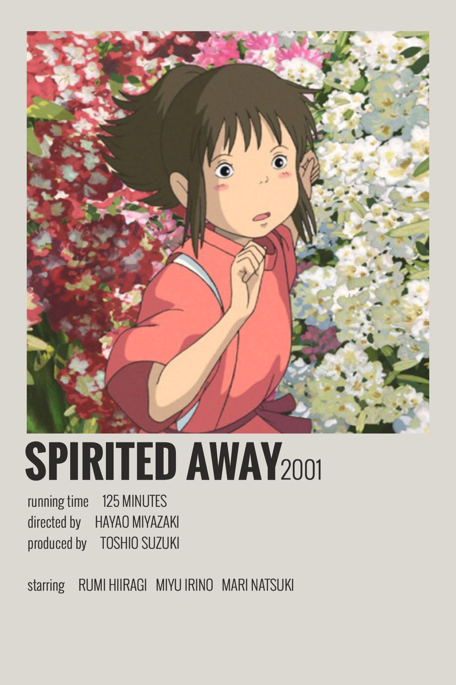 Alternative Minimalist Movie/Show Poster Spirited Away in ...