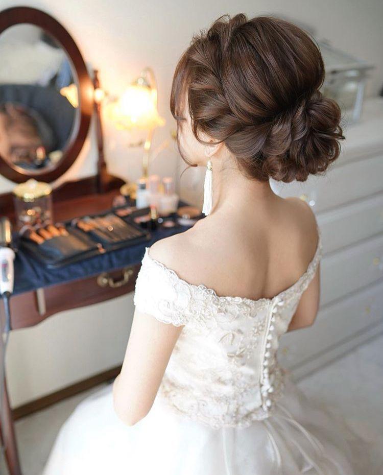 ウェディングヘア おしゃれまとめの人気アイデア Pinterest Ayachi