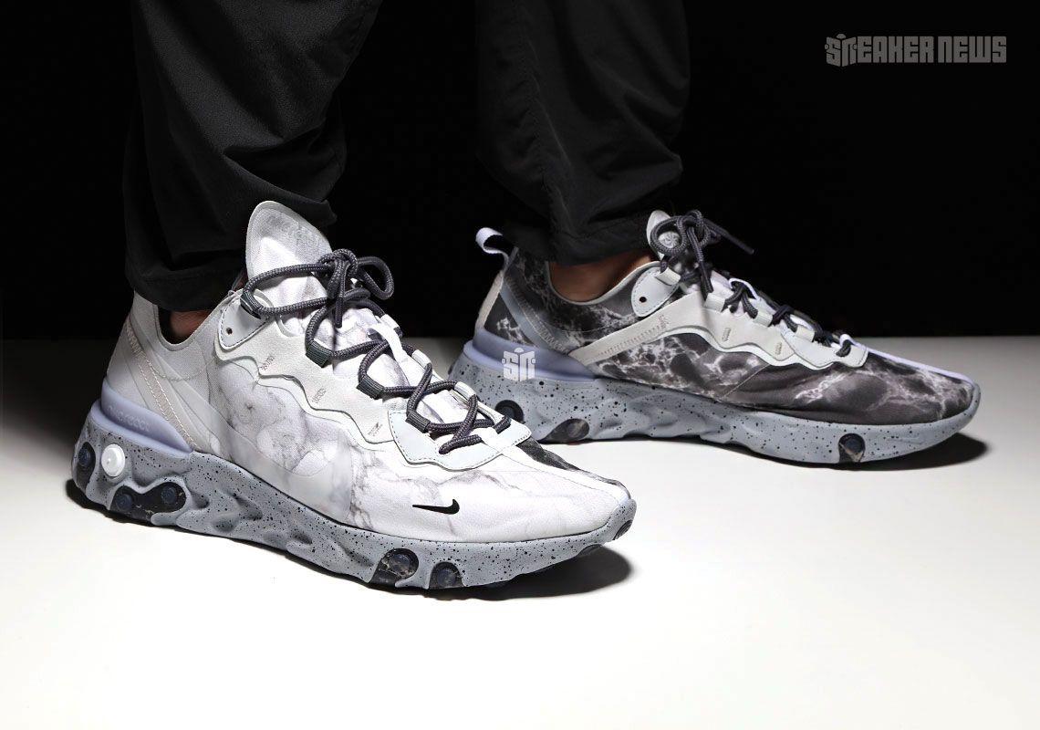 Where To Buy Kendrick Lamar's Nike React Element 55 | Nike