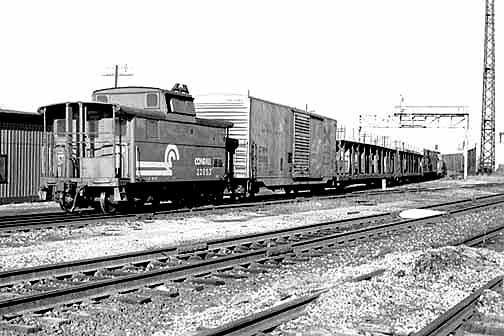 ex PRR N5B Class, 22853 Springfield, OH  December 17, 1978