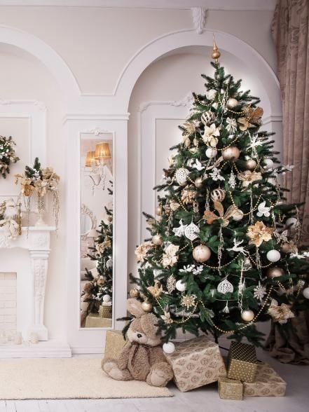 50+ Christmas Tree Decorating Ideas Xmas Decor Pinterest