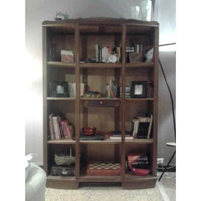 pas pas transformer une armoire ancienne en biblioth que tard dans la nuit pinterest. Black Bedroom Furniture Sets. Home Design Ideas