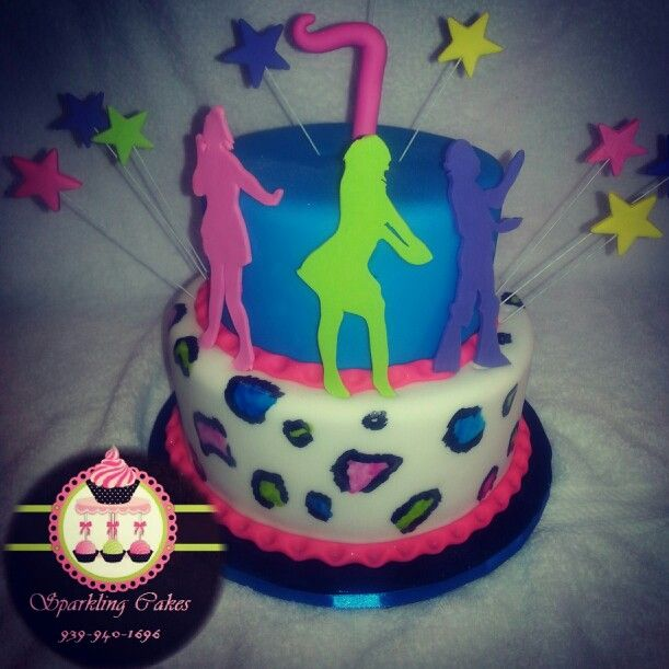 Cute Just Dance cake!!! | Video Games to Life | Pinterest ...