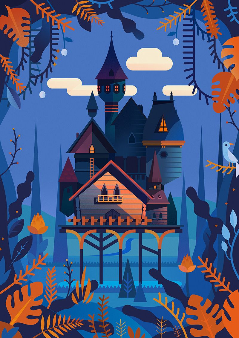 La cabane on Behance