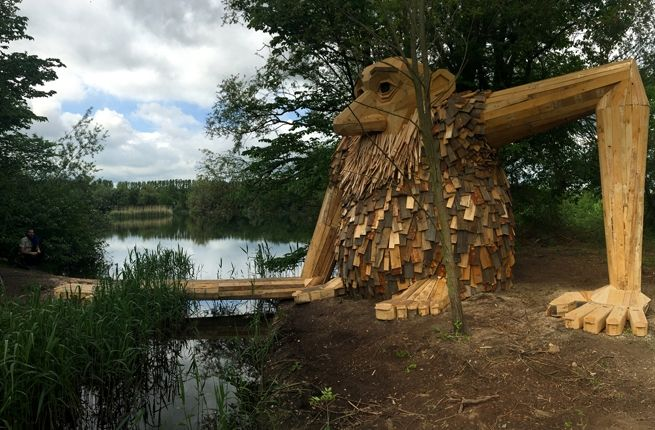 Use a Treasure Map to Find Wooden Giants Hidden in the ...