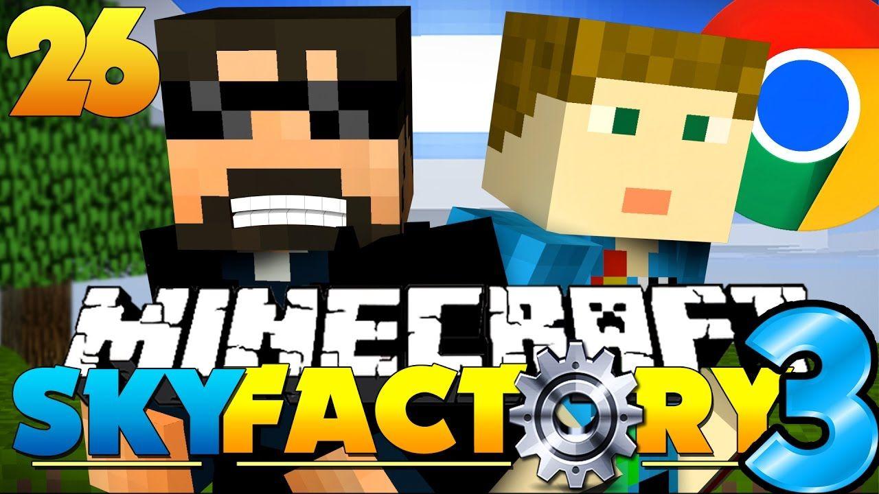Minecraft: SkyFactory 3 - GOOGLE HEADQUARTERS!! [26] | country