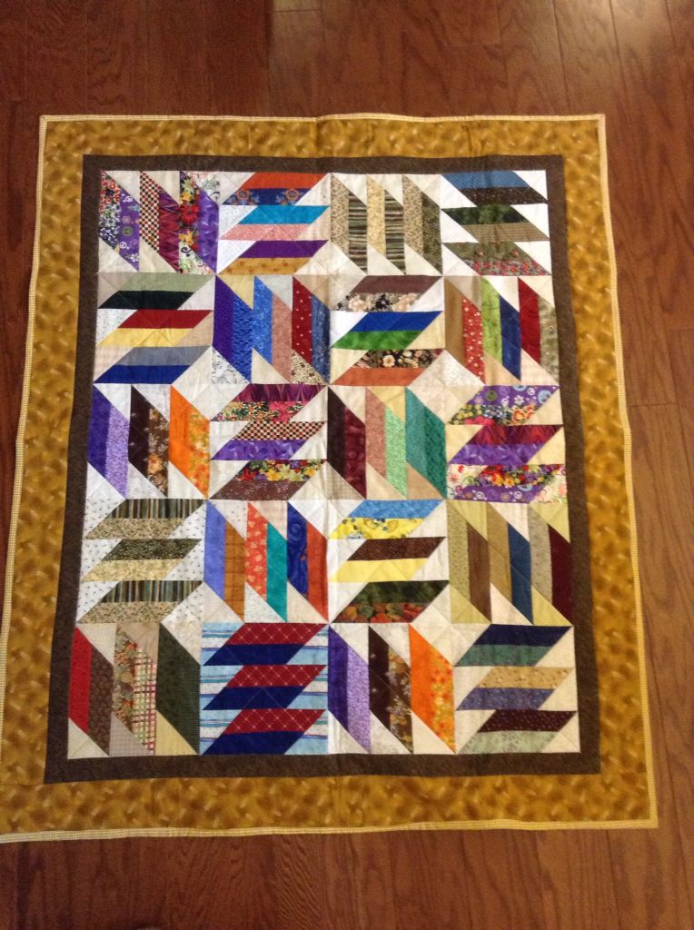 I put this quilt together from blocks made by our quilt guild. I ... : how to put a quilt together - Adamdwight.com