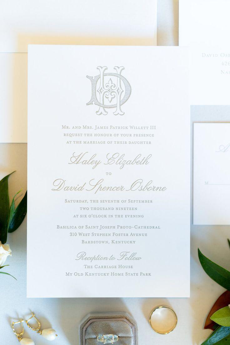 Classic and Elegant Kentucky Wedding | Alisha Crossley ...