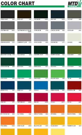 Tractor Paint Color Chart 0637 Parts Are The Most