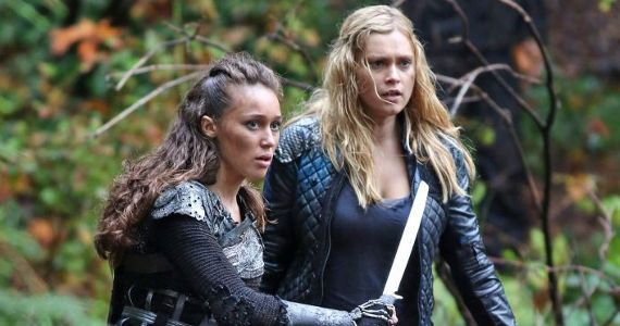 Image result for the 100 lexa and clarke season 2