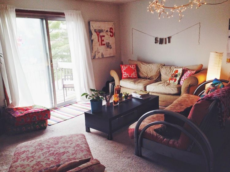 Living Room Decor For Apartments welcome to our crib | college apartments, apartments and college