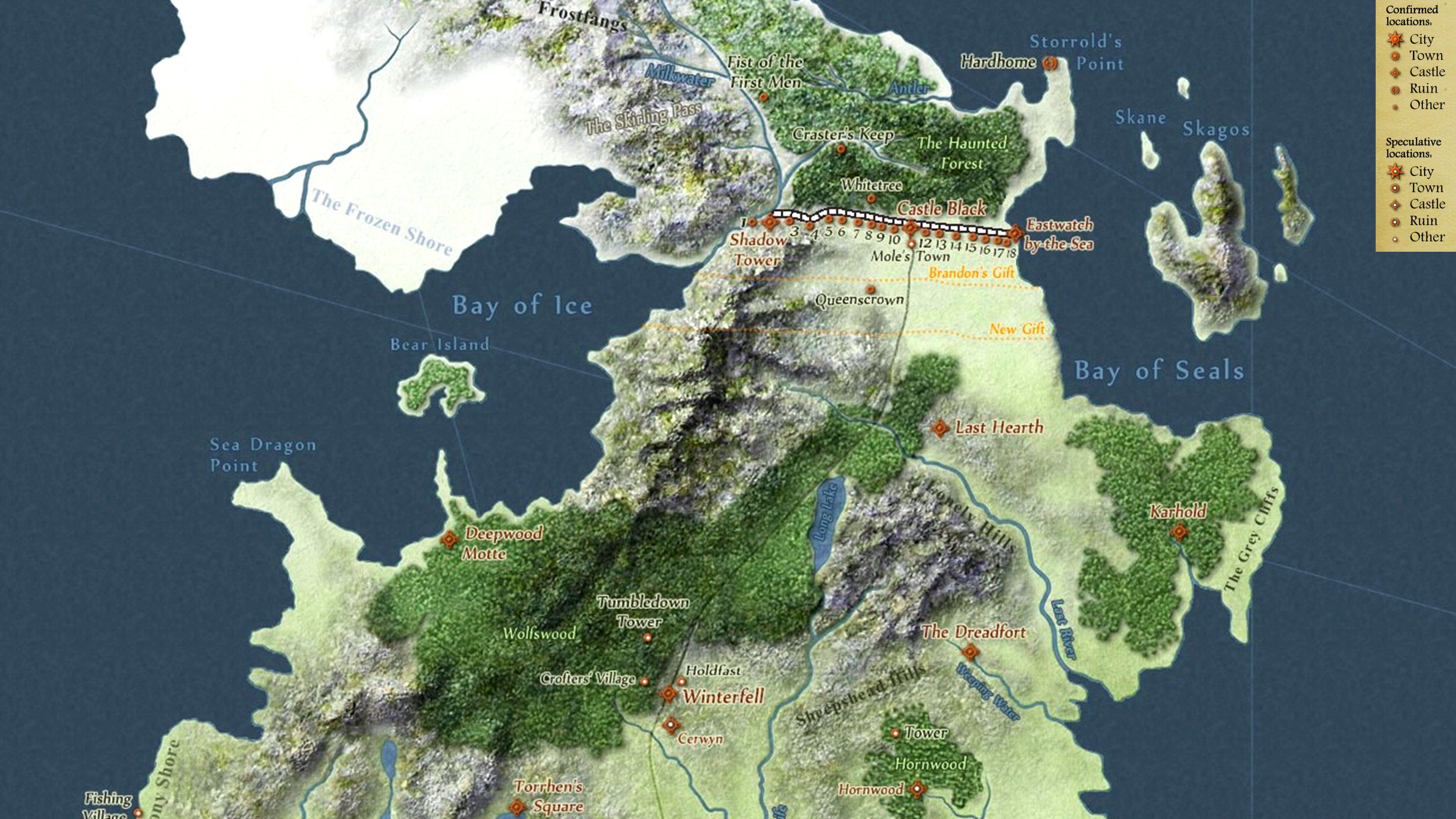 Got Karte Westeros.Game Of Thrones Westeros Karte Deutsch