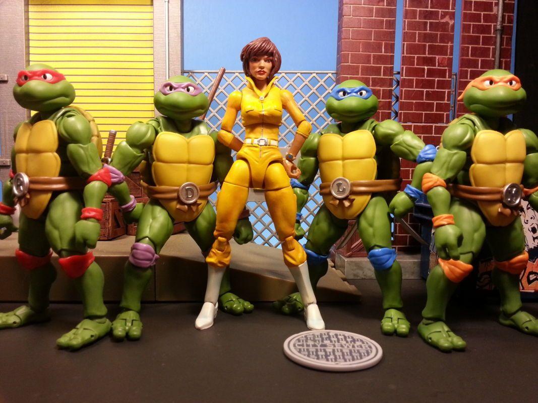 April Oneil Teenage Mutant Ninja Turtles Custom Action Figure