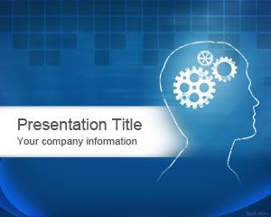 Brain Power Powerpoint Template Is A Free Presentation Background
