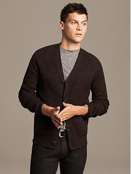 e1a833f258a Heritage Marled Brown Cardigan