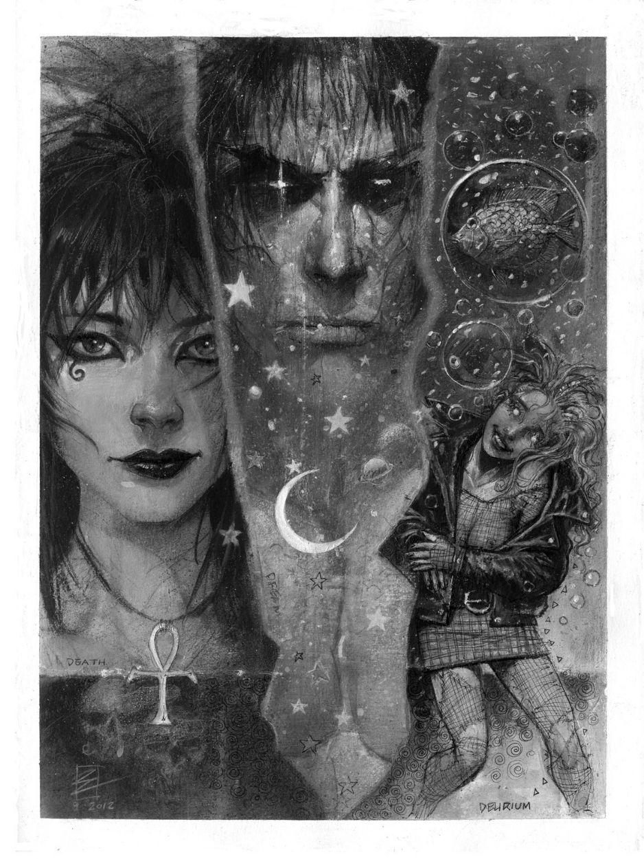 Title:The Endless: Death, Dream (Sandman, Morpheus), and Delirium