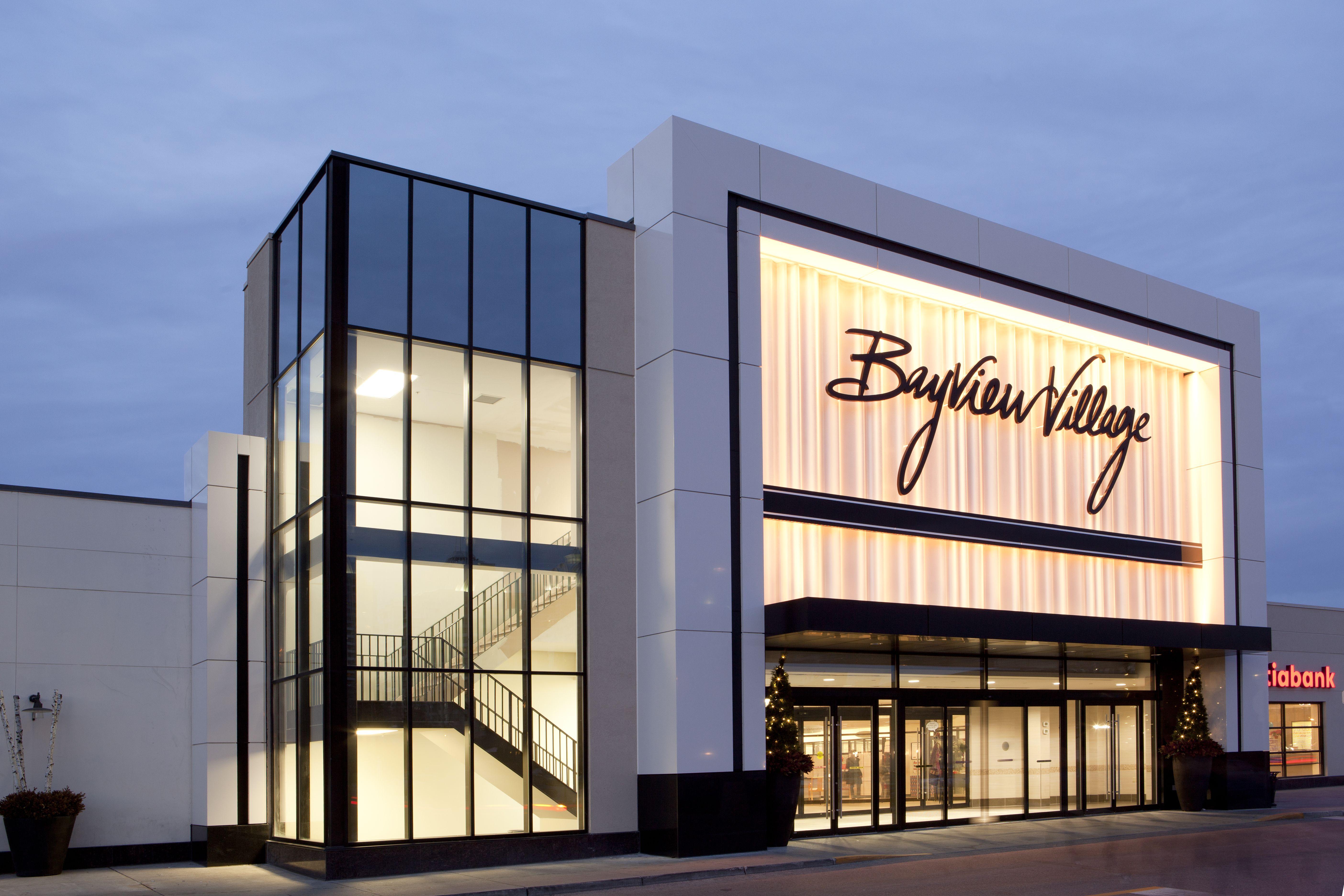 #bayviewvillage #bvshops In 2019 Retail Facade
