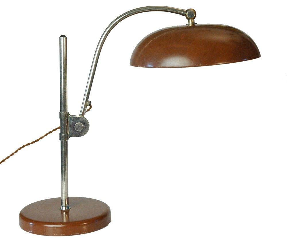 1920s Bauhaus Design Era Christian Dell Lamp Lampada