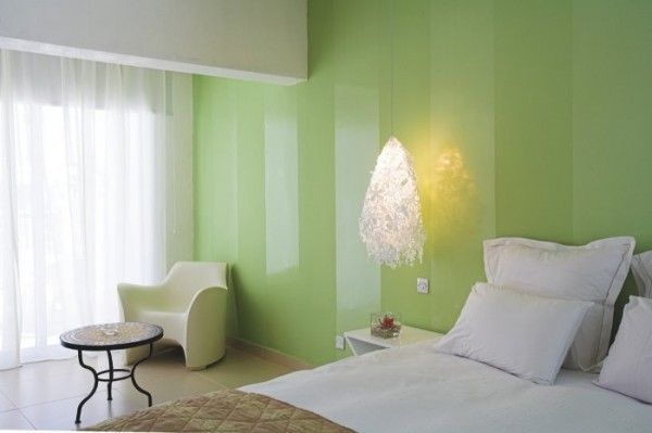 Pared verde mate y brillante | Diseno | Pinterest | Paredes verdes ...