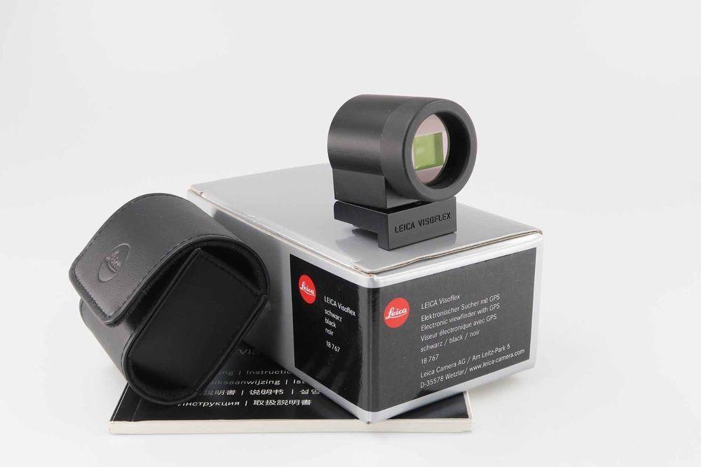 Leica Visoflex 18767 Elektronischer Sucher Mit Gps Leitz Near Mint