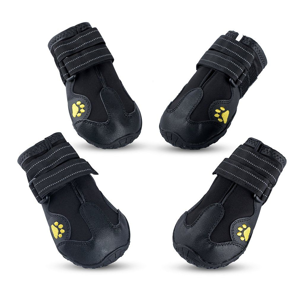 d2584cd585e Piggypet Waterproof Shoes for Dogs Hiking Boots for dogs with Non ...