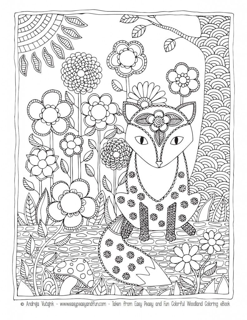 Coloring pages easy peasy more